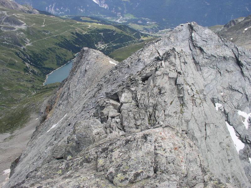 La cresta dall'Echelle
