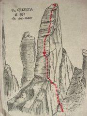 Mappa della via