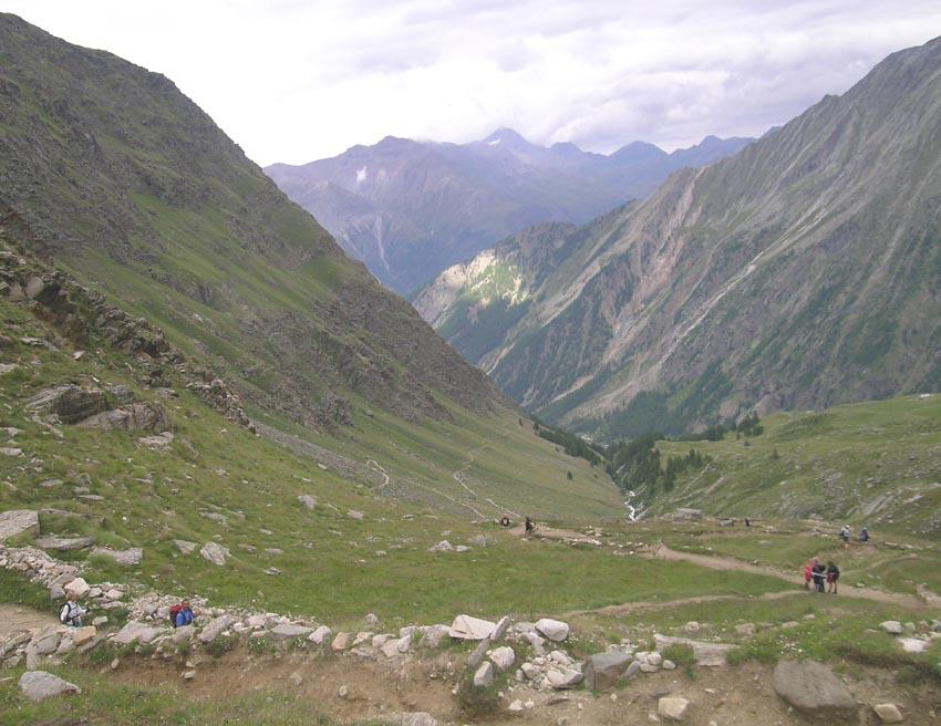 laggiù: Valnontey