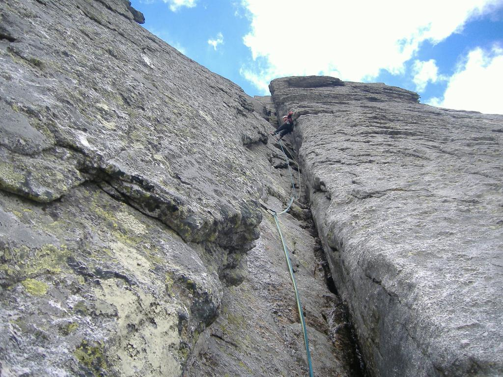 scalata in camino