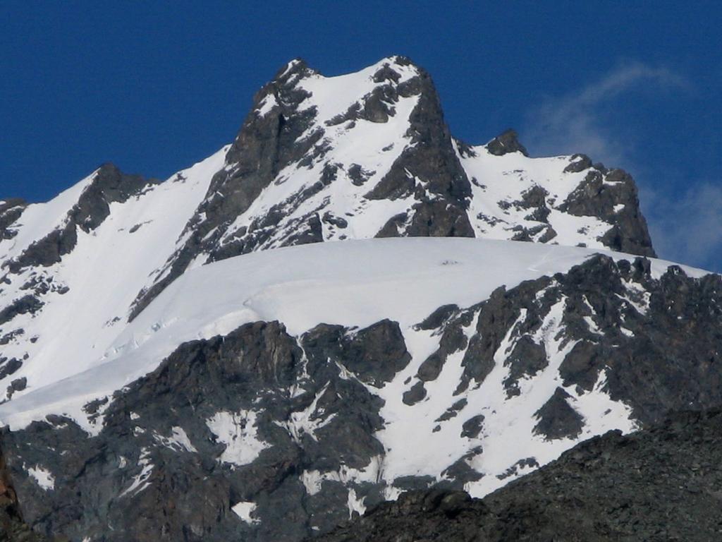 il Rimpfischorn visto dalla quota 3315 m. (Pfulwe)