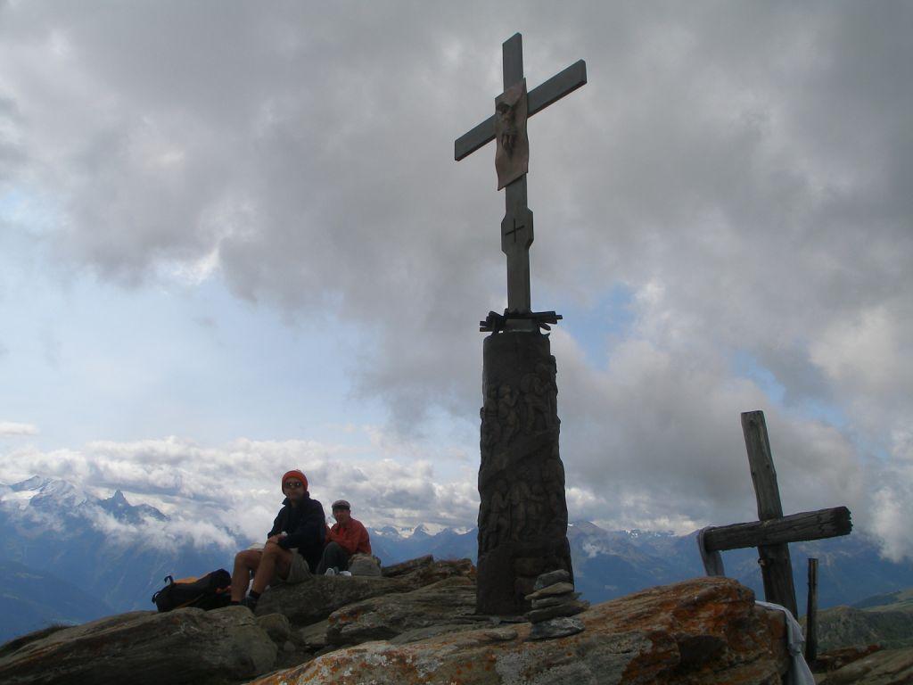 Sulla cima della Chaligne