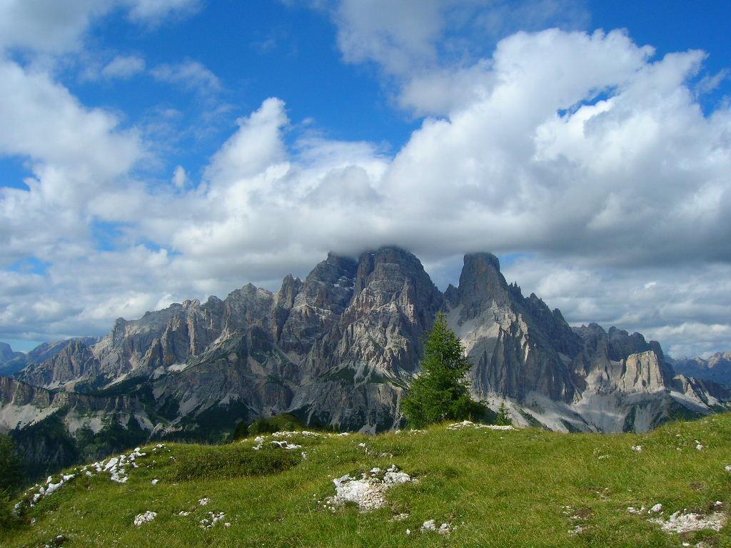 Ciadin (Forcella) da Passo Tre Croci 2008-08-17