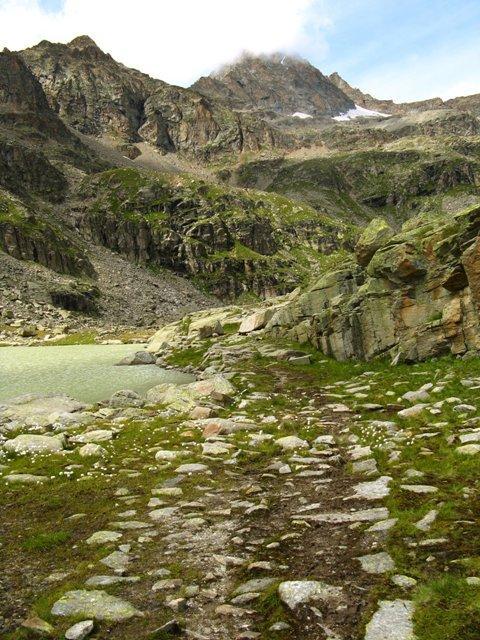 Il Ciarforon dal Lago inferiore di Ciamosseretto