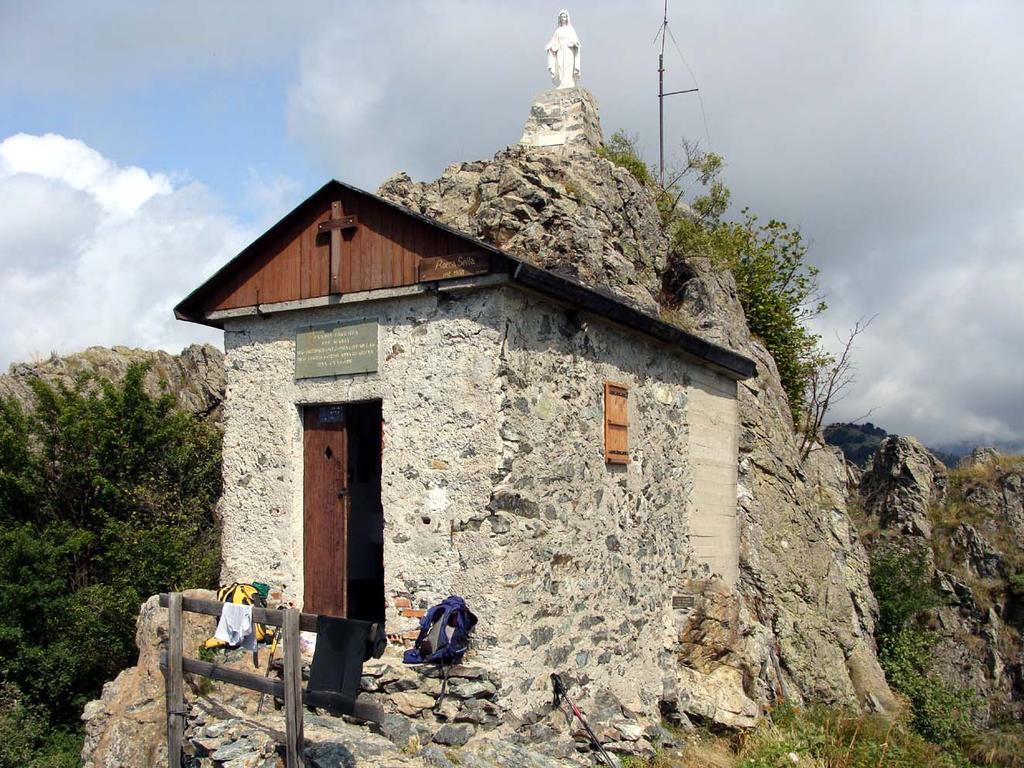 la cappella e la madonna in punta