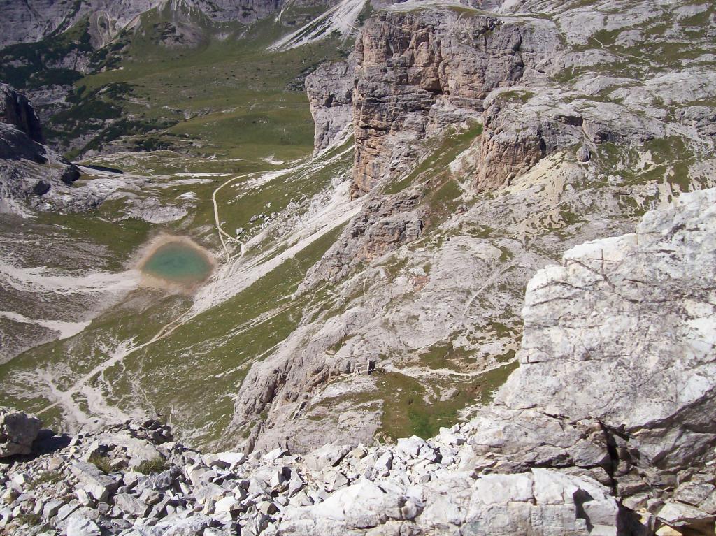 Dalla Torre Oberba: laghetto di Cengia