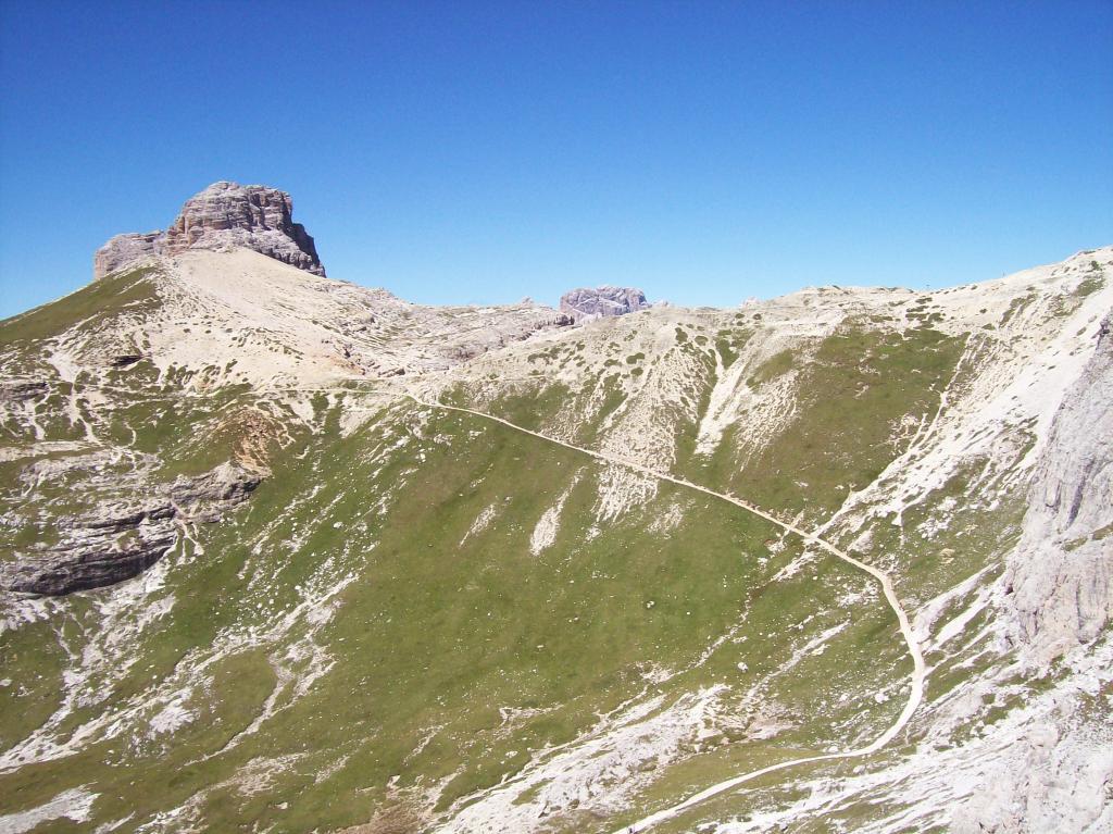 Dalla Torre Oberba: il sentiero percorso