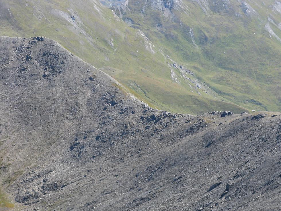 il Colle di Thures visto dalla Punta Rasis