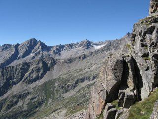 Dal Colle della Cadrega, panorama sulla Valle di Forzo