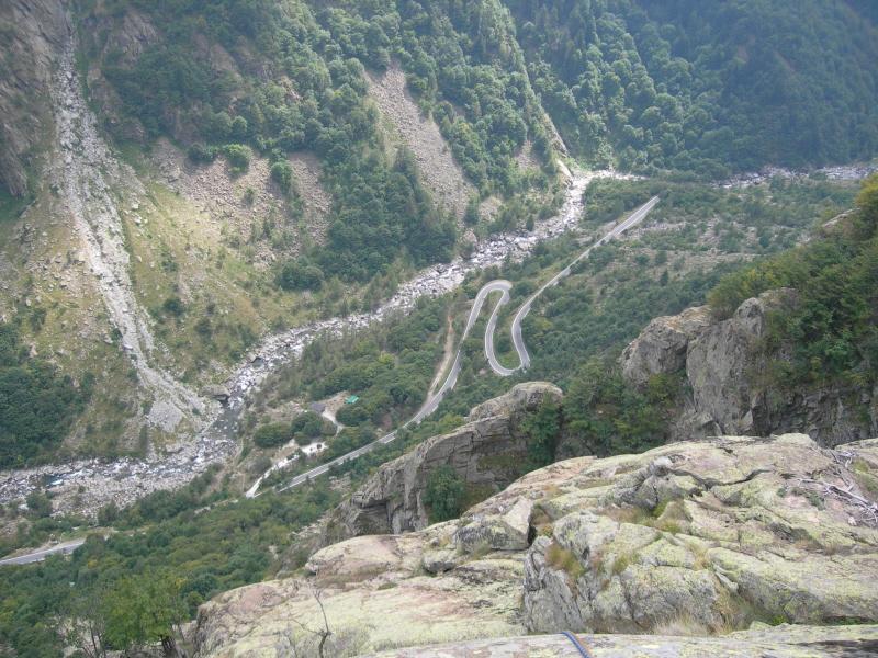 Vista sul fondo valle