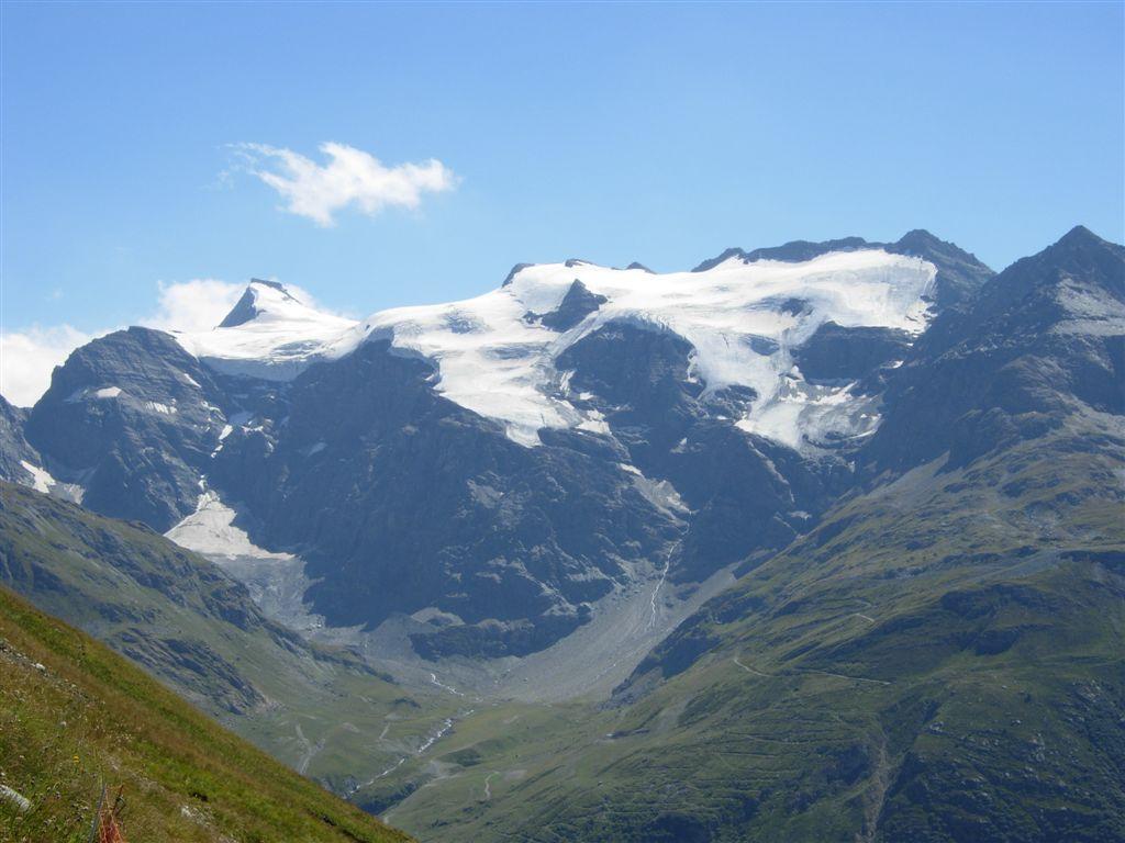 L'Albaron di Savoia dall'alta valle dell'Arc