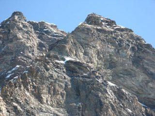 Alpinisti sul Cervino ed il Pic Tyndall