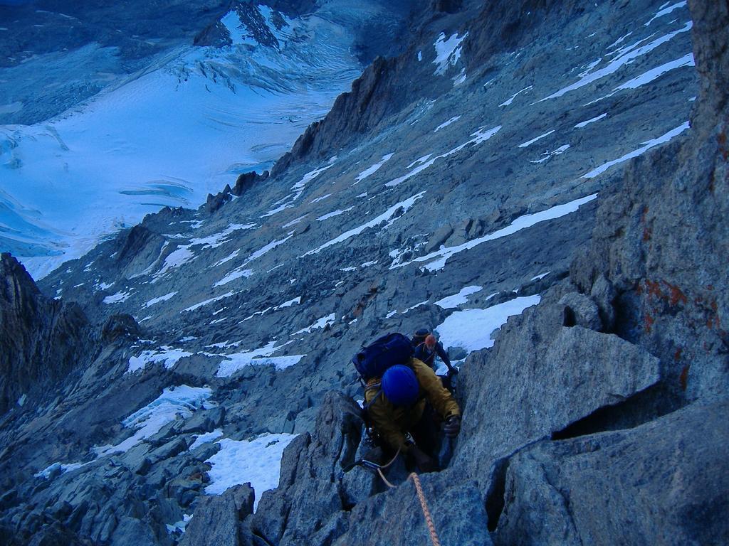 tratti di arrampicata