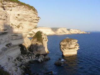 Spettacolari costiere di Bonifacio