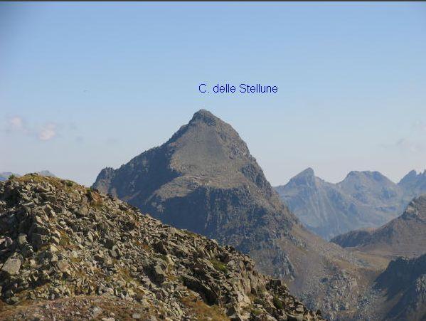 Ziolera (Monte) e Cima delle Stellune dal Passo Manghen 2007-09-30