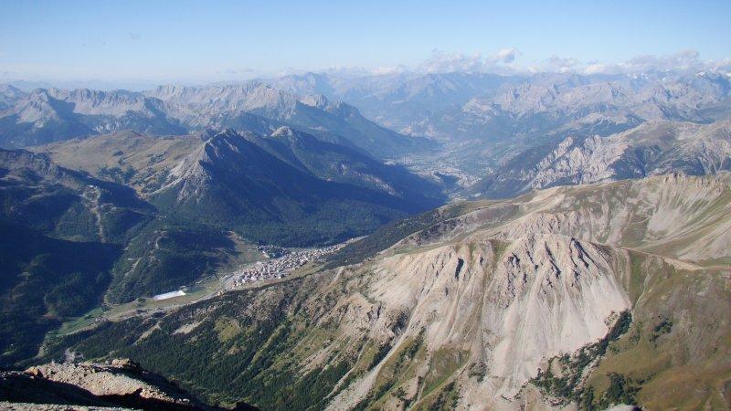 Panorama verso Monginevro