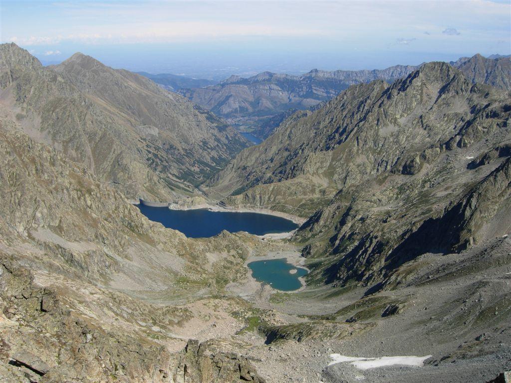 Il Lago del Brocan, i bacini del Chiotas e  della Piastra
