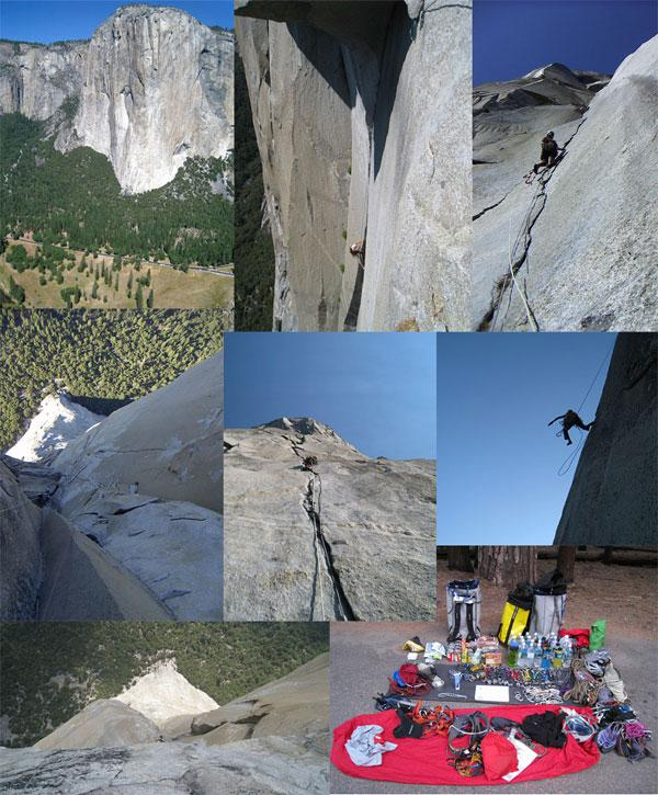 Moments of the climb