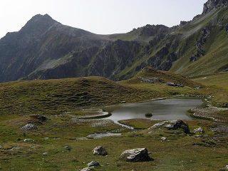 Faroma, Col Vessona dal laghetto sotto il Col du Chaleby