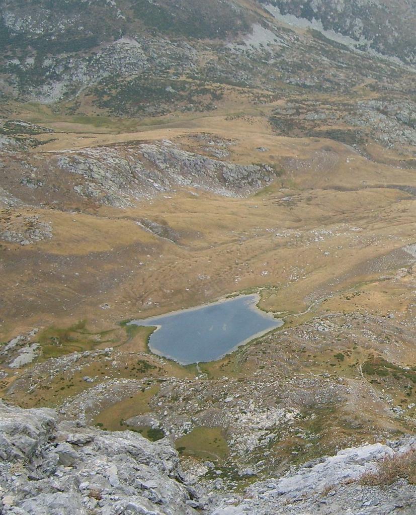 Il lago Raschera