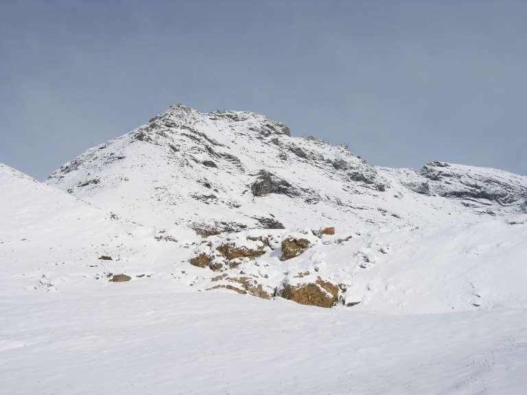Il Mont Niblè dal colle.