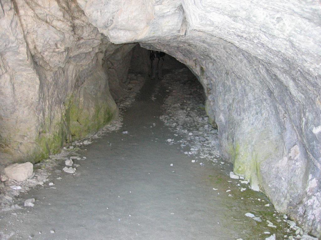 accesso al buco di viso dal versante italia