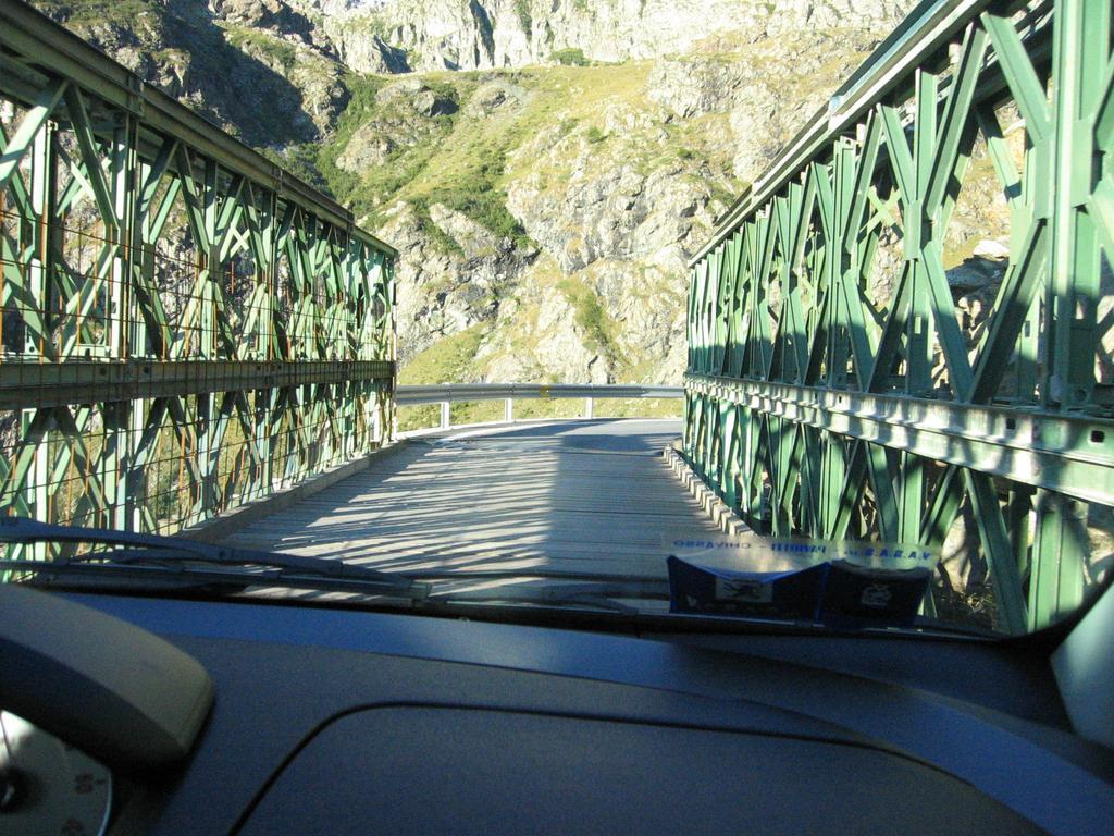ponte bailey nei pressi di pian delre
