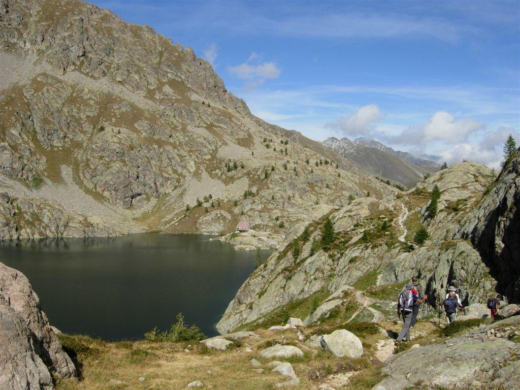 Lac Vert e rifugio di Valmasque