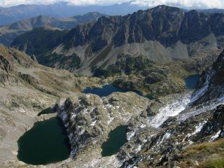 Lac Lusiere, Gelé, Vert, Noir, ecc
