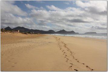 versante Sud:sulla spiaggia di 9 Km