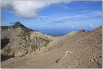 salendo al Pico Branco