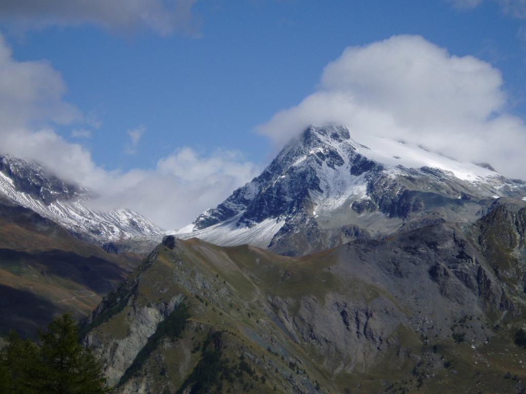 il mont gelè al ritorno con un pò di sole