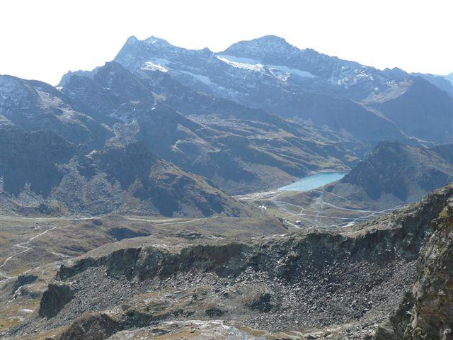 Corno Bianco e lago Gabiet.