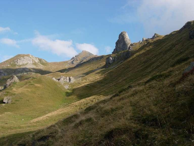 Il Mont Ouille dall'Alpe Bioletta