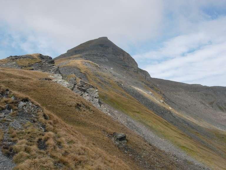 Il Mont Ouille dalla dorsale.