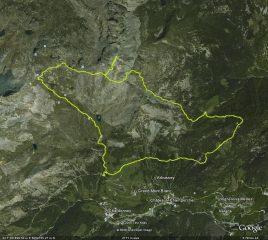 Traccia GPS con partenza Park rif. Barbustel