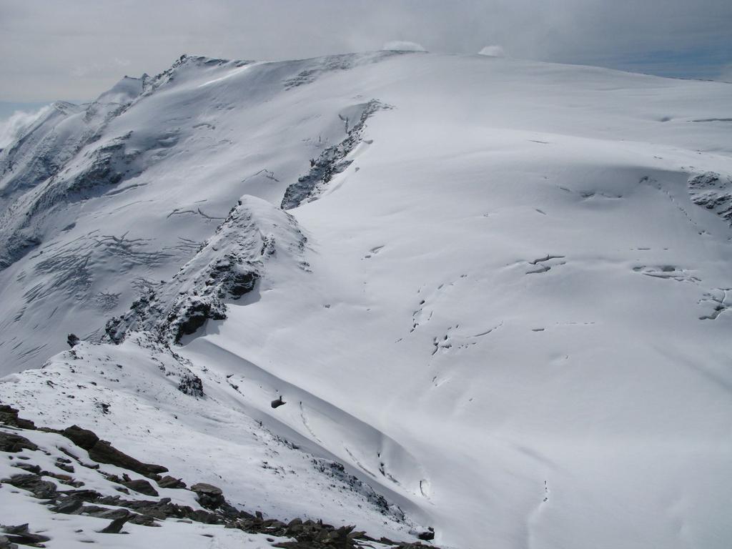 Panorami osservati dalla cima : la vicina Punta Plattes des Chamois m. 3610 (21