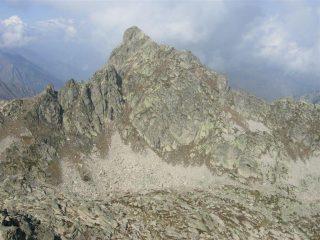 IL monte Frisson dalla Rocca della Bastera