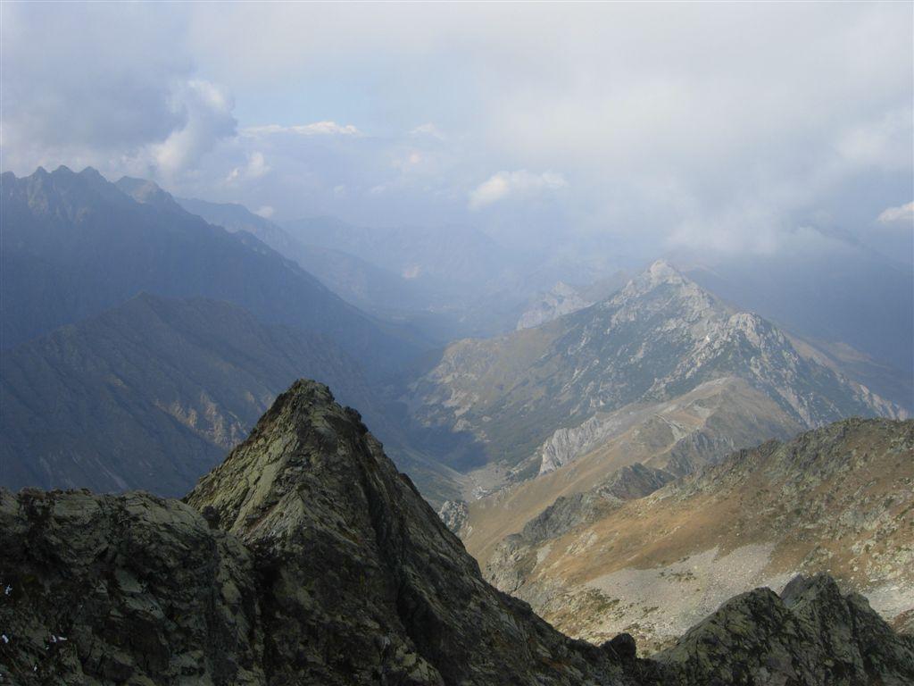 La valle verso Entracque e il Garbella a destra