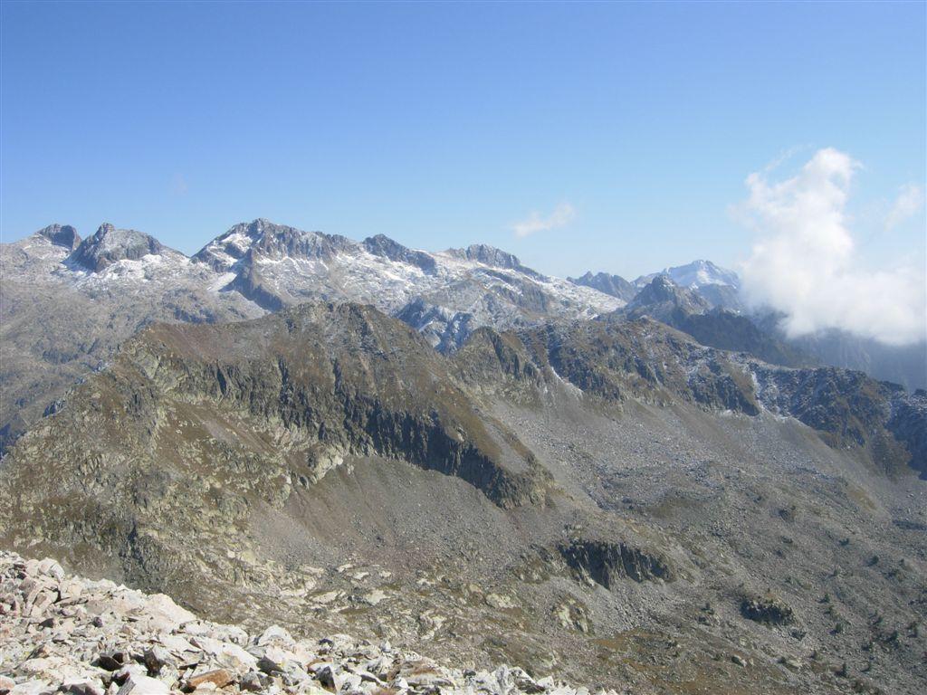 Verso Brocan, Gelas e il vallone di discesa