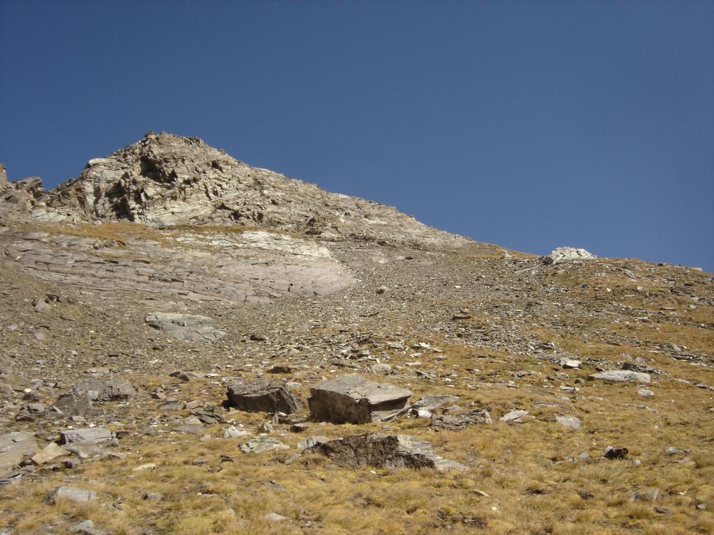 Versante sud-ovest del Mont Delà