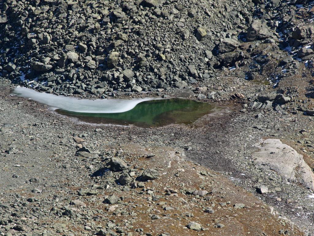Bellissimo laghetto glaciale