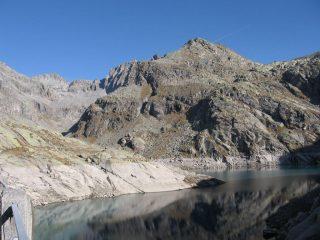 Lago di Valsoera e Punta della Motta