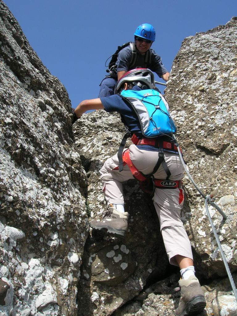 Passaggio in arrampicata