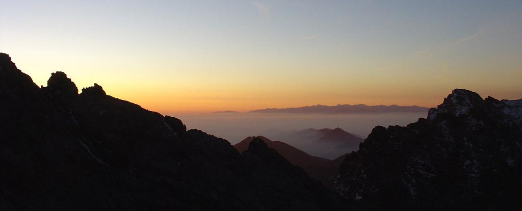 l'alba a pochi passi dall'andreotti