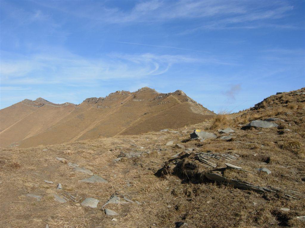 Bertrand (Monte)dal Passo Tanarello, anello per il Colle dei Signori 2008-10-19