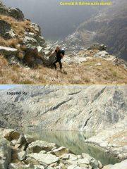 Cornetti di balme e lago del ru