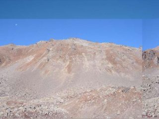 Il MOnte Vertosan visto da sotto il Colle Finestra