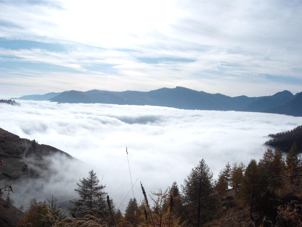 Mare di nebbia da Borgata Chiotti