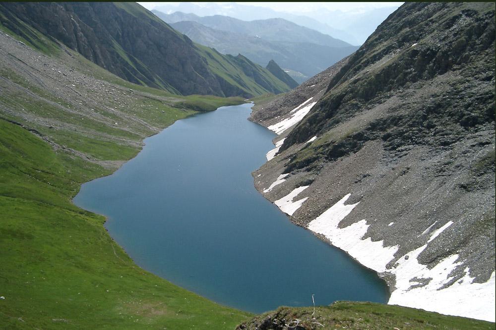 Lago di Liconi (luglio 2004)